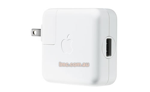 Apple iPod & iPhone USB Power Adaper [MB051X/A] *Clearance - Limited Stock*