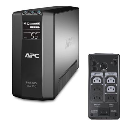 APC Back-UPS RS LCD 550VA Master Control [BR550GI] - Power Supply