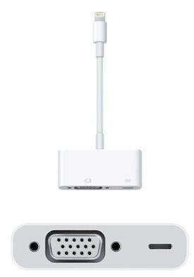 Apple Lightning to VGA Adapter [MD825AM/A]