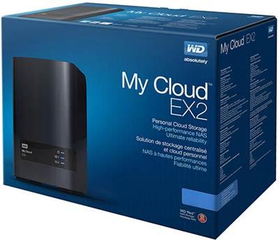 WD My Cloud 8TB EX2 Ultra [WDBVBZ0080JCH-SESN] 2-bay NAS