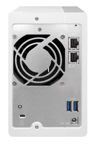 QNAP TS-231P 2-Bay Diskless Tower NAS - Hard Disk Drive ...