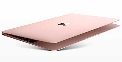 Apple MacBook 12 inch [MNYM2X/A] Intel Dual-Core Cpre M3 1.2Ghz/8GB/256GB SSD/Intel HD Graphics 615/Retina Display/macOS Sierra - Rose Gold