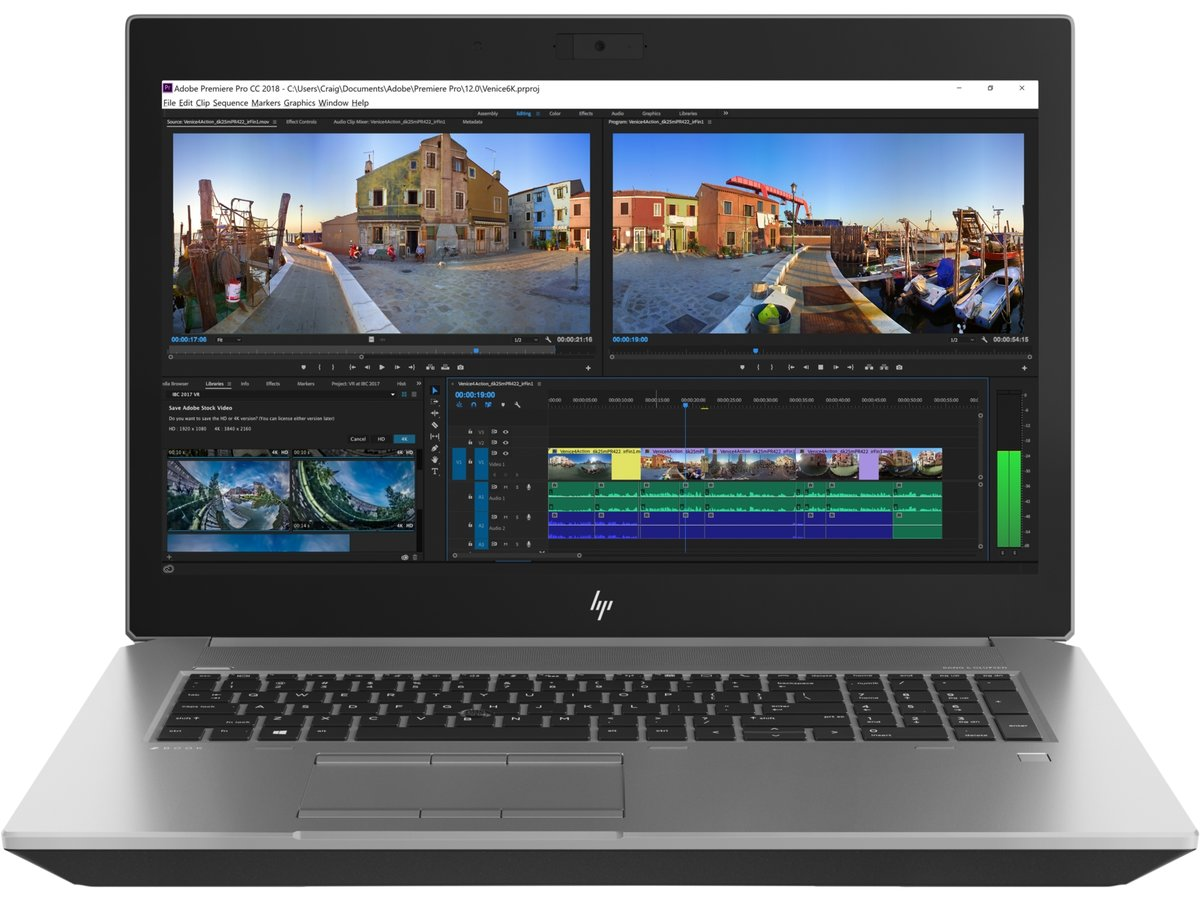 HP ZBook 17 G5 Mobile Workstation [4SQ94PA] - Notebooks and Laptops