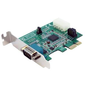 Startech [PEX1S952LP] 1-Port Low Profile Native PCI Express RS232 Serial Card with 16950 UART - PCIe Serial Card - 1 Port LP RS232 Card