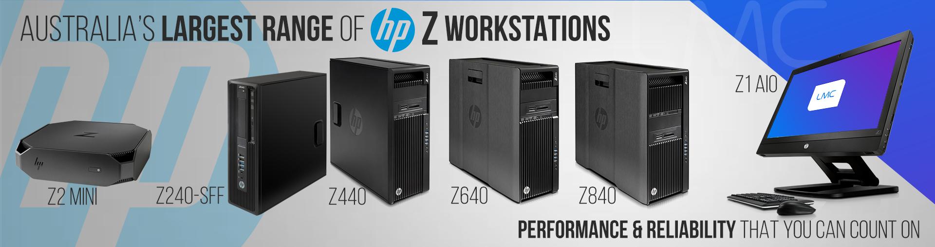 HP Z Desktops